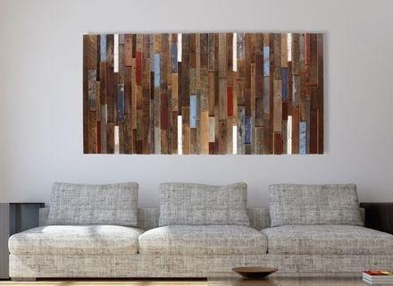Deer Head Wood Plank Wall Decor Hobby Lobby 1125640, Plank Wall Art Regarding Plank Wall Art (Image 3 of 20)