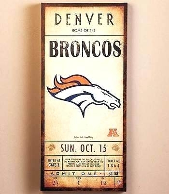 Denver Broncos Wall Decor Luxury Idea Broncos Wall Decor Decorations Intended For Broncos Wall Art (View 14 of 20)