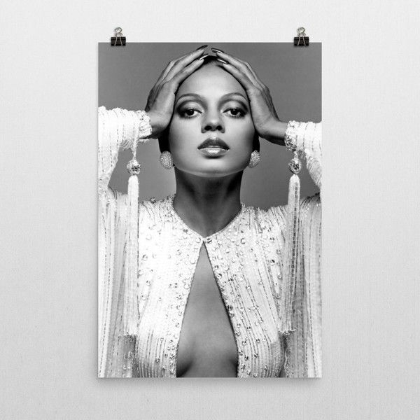 Diana Ross Poster (755 Uah) ❤ Liked On Polyvore Featuring Home For Ross Wall Art (View 8 of 20)
