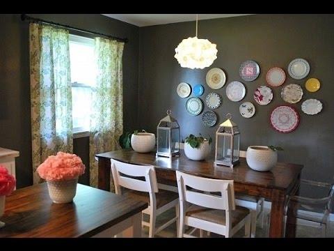 Dining Room Wall Decor~Dining Room Wall Art Ideas – Youtube In Dining Room Wall Art (Image 6 of 10)