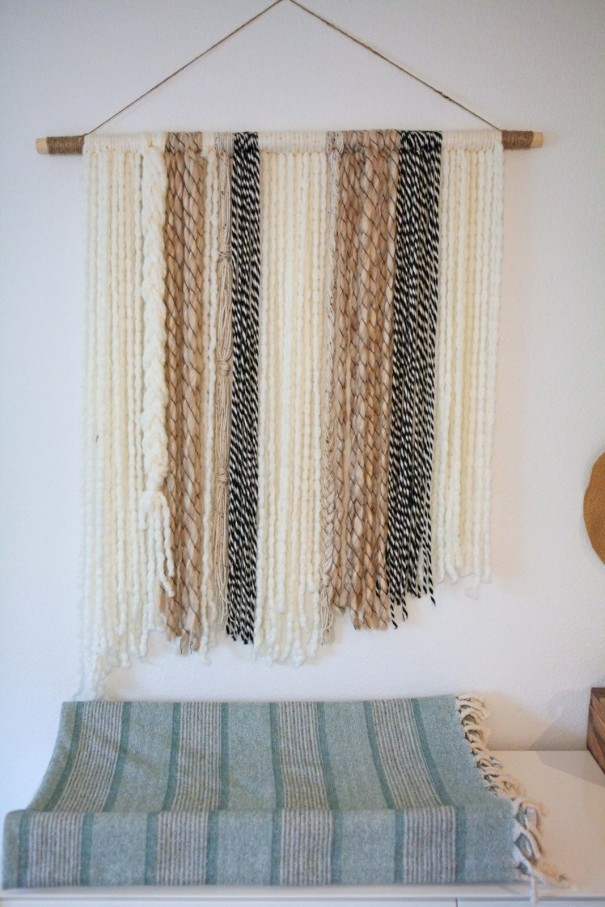 Diy Boho Yarn Wall Art – Craft – Little Miss Momma In Yarn Wall Art (Image 7 of 25)
