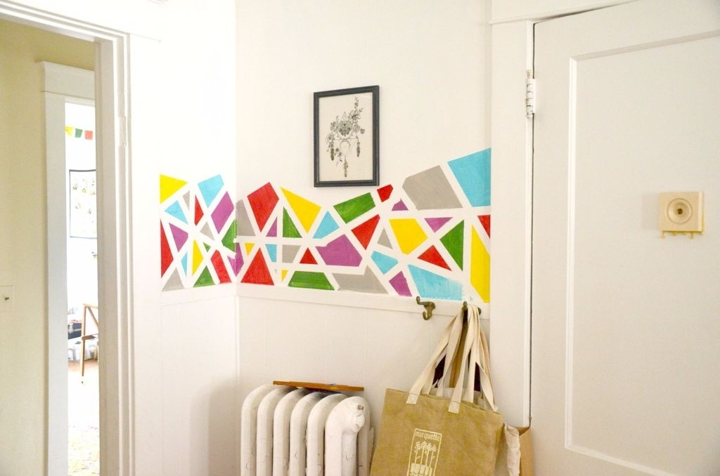 Diy Geometric Wall Art Home Decor Intended For Geometric Wall Art (View 6 of 20)