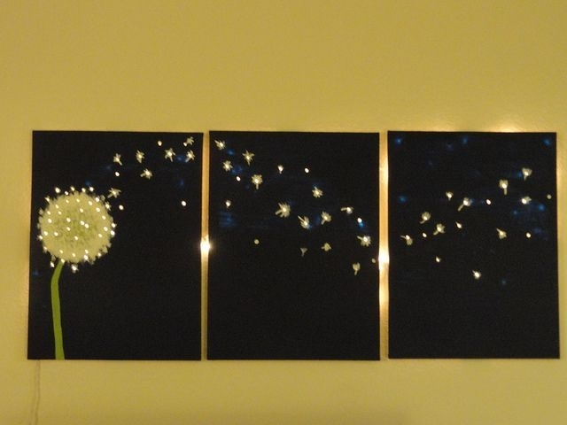 Diy Light Up Wall Art (View 9 of 25)