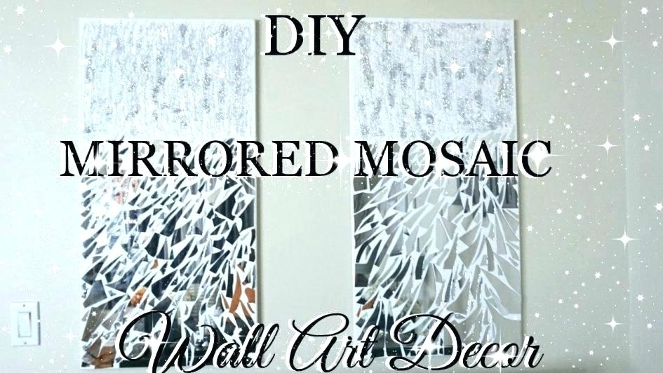 Diy Mosaic Mirror Mosaic Mirror Wall Art Pier One Ed Large Size Love With Regard To Mirror Mosaic Wall Art (Image 9 of 25)