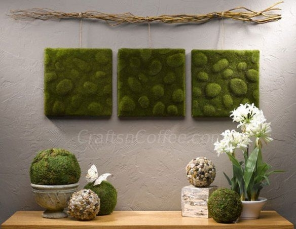 Diy Moss Wall Art | Diy | Pinterest | Moss Wall Art, Moss Wall And Walls With Moss Wall Art (Image 6 of 25)