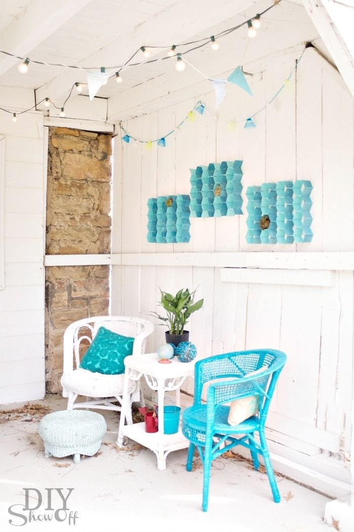 Diy Patio Wall Decor | New House Designs In Outdoor Wall Art Decors (View 20 of 20)