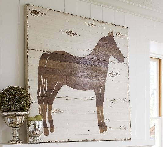 Diy Pottery Barn Knockoff Art – Made From Wood Plank Paneling Within Pottery Barn Wall Art (View 5 of 10)