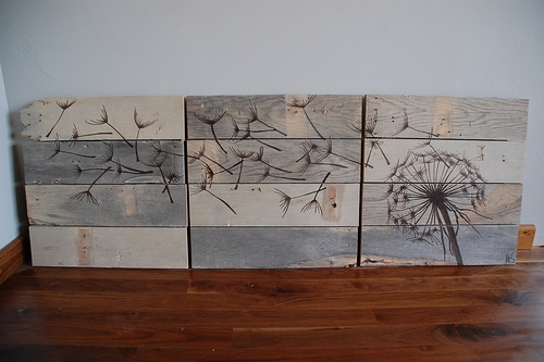 Diy Rustic Wood Wall Art – Shelterness With Regard To Diy Wood Wall Art (Image 12 of 25)