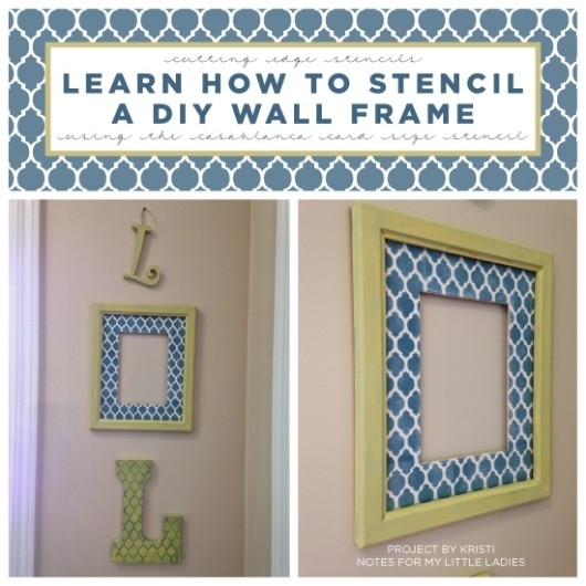 Diy Wall Art Projects Using Stencils Pertaining To Cheap Framed Wall Art (View 22 of 25)