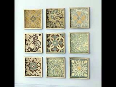 Diy Wall Art Projects – Youtube In Diy Wall Art Projects (Image 20 of 25)