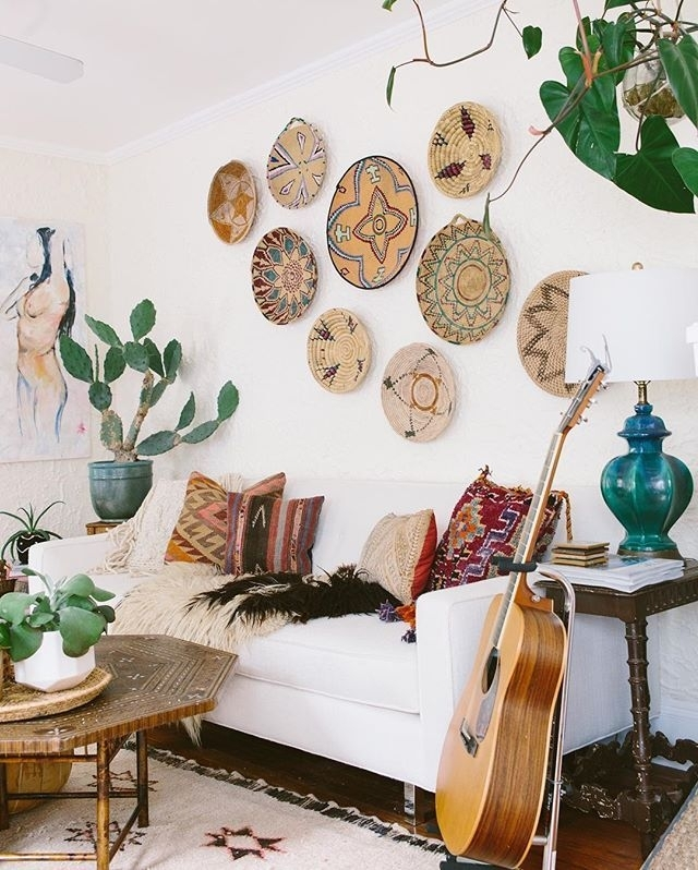 Diy Wall Decor Boho – Gpfarmasi #2B2Fb10A02E6 With Regard To Bohemian Wall Art (View 14 of 25)