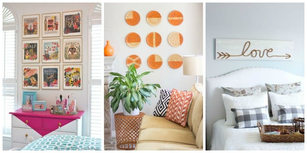 Diy Wall Decor Diy Wall Art Affordable Art Ideas Inseltage Diy Wall With Regard To Affordable Wall Art (View 2 of 25)