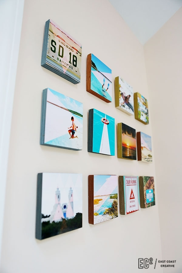 Diy Wood Block Instagram Wall Art – East Coast Creative Blog With Instagram Wall Art (View 6 of 20)