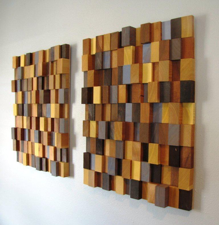 Diy Wood Wall Art — Home Designs Insight : Diy Wall Art Ideas In Diy Wood Wall Art (View 20 of 25)