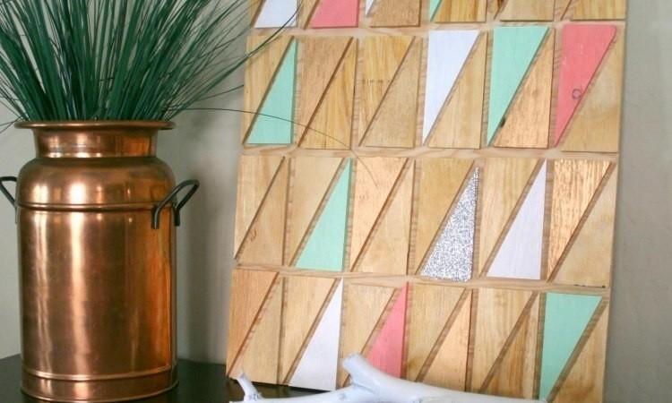 Diy Wood Wall Art Ideas | Art Ideas Crafts With Regard To Diy Wood Wall Art (Image 14 of 25)