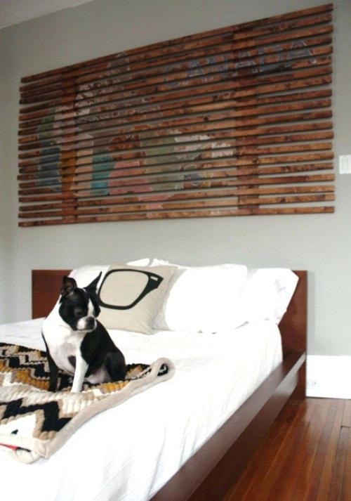 Diy Wooden Plank Wall Wood Wall Art Pieces Room Interior 1 Plank Throughout Diy Wood Wall Art (View 12 of 25)