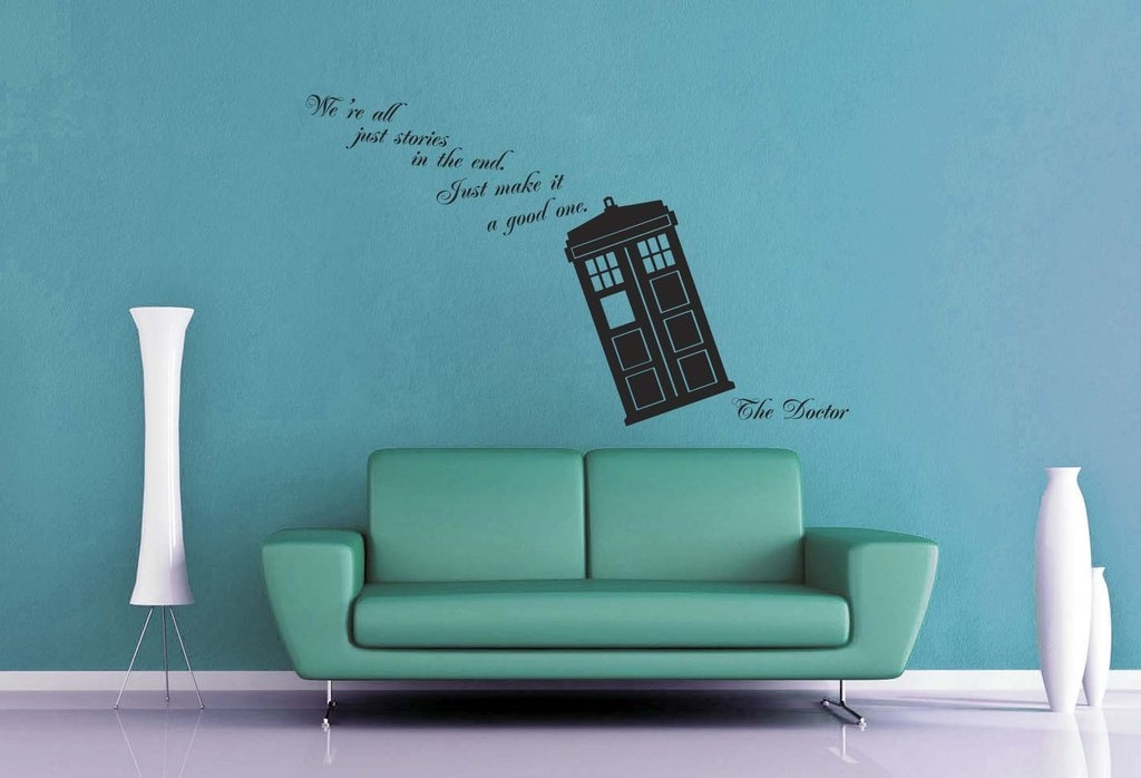 Doctor Who – We're All Stories Wall Decalgeekerymade On Deviantart Within Doctor Who Wall Art (Image 4 of 10)