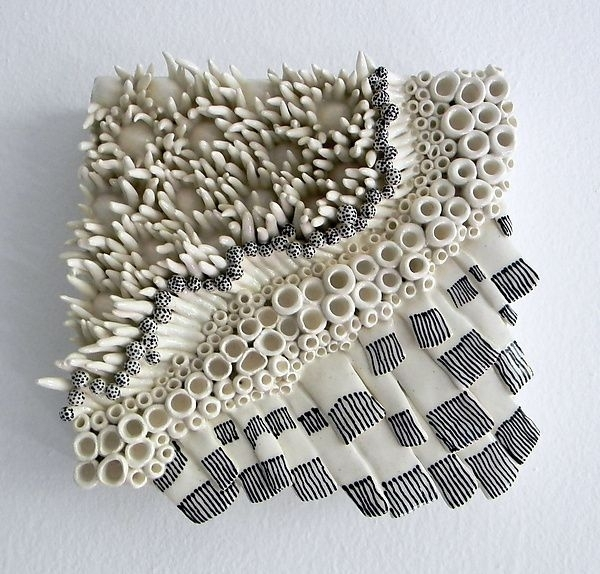 Dots And Dashesregina Farrell: Ceramic Wall Art Available At Www Pertaining To Ceramic Wall Art (Image 11 of 25)