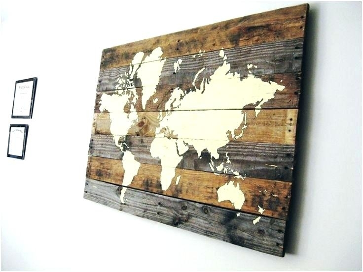 Download Diy World Map Wall Decor | Major Tourist Attractions Maps Pertaining To Diy World Map Wall Art (Image 17 of 25)