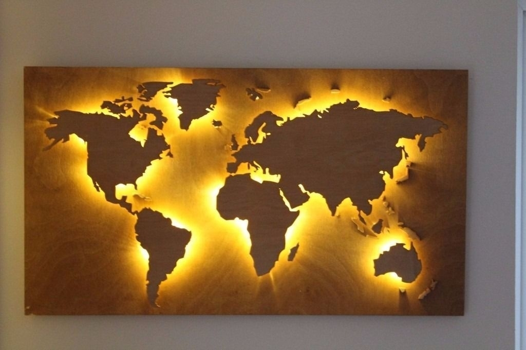 Download Diy World Map Wall Decor | Major Tourist Attractions Maps With Diy World Map Wall Art (View 20 of 25)