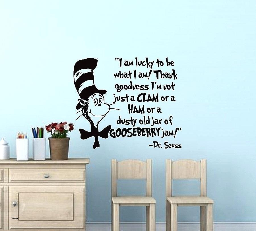 Dr Seuss Wall Decals Vinyl Wall Art Best Of I Am Lucky To Be What I Regarding Dr Seuss Wall Art (View 19 of 20)