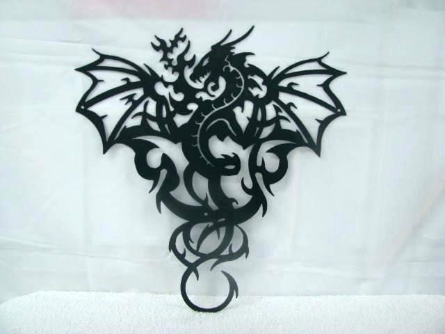 Dragon Wall Decoration Dragon Wall Art Super Vinyl Wall Decal Dragon Regarding Dragon Wall Art (Image 17 of 25)