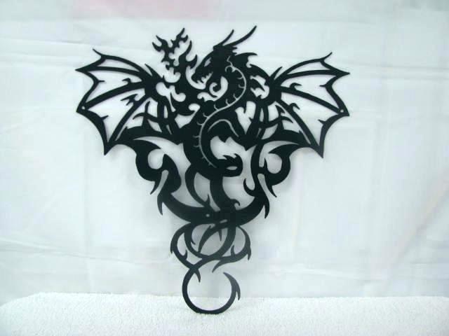Dragon Wall Decoration Dragon Wall Art Super Vinyl Wall Decal Dragon Regarding Dragon Wall Art (Image 17 of 25)