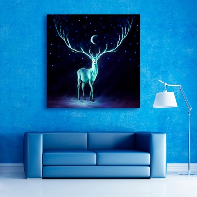E Home Stretched Trend Led Wall Art – Wall Decoration Ideas For Led Wall Art (View 19 of 20)