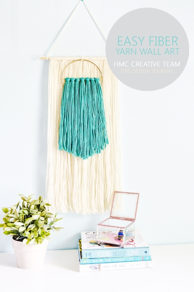 Easy Fiber Yarn Wall Art – Home Madecarmona With Yarn Wall Art (Image 15 of 25)