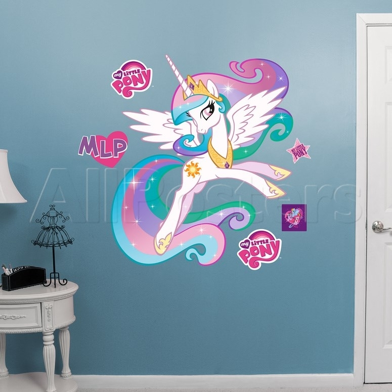 Enchanting My Little Pony Wall Decor Ornament – Wall Decor Throughout My Little Pony Wall Art (View 18 of 20)