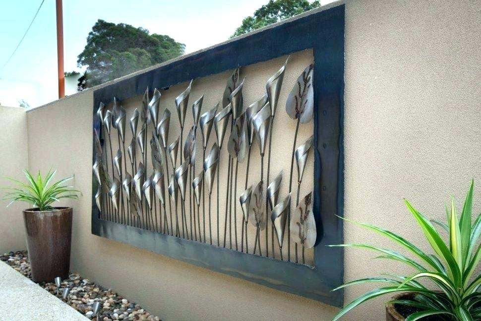 Extra Large Outdoor Wall Art Outdoor Wall Ideas Medium Size Of Wall Regarding Outdoor Wall Art (View 8 of 10)