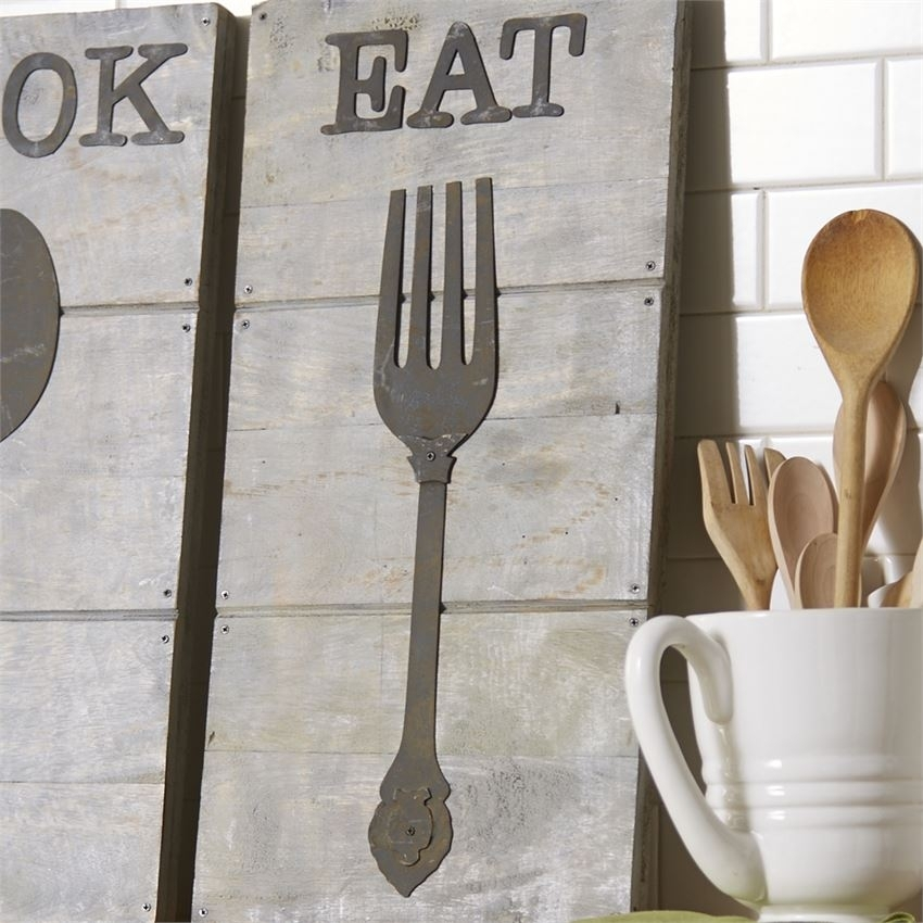 Extraordinary Idea Fork And Spoon Wall Art – Ishlepark Inside Fork And Spoon Wall Art (Image 4 of 25)