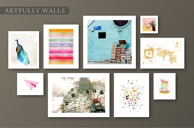 Fab Freebie: Artfully Yours | Pinterest | Gallery Wall, Wall With Artfully Walls (Image 6 of 10)