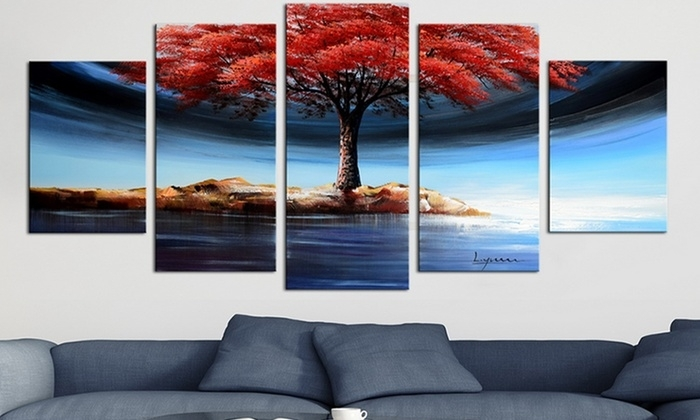 Fabuart – From $39 | Groupon Pertaining To Wall Art Canvas (Image 2 of 10)