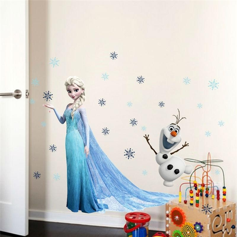 Fairy Tale Movie Wall Decals Home Decor Boys Girls Room Decorations With Art Wall Decors (Image 12 of 25)
