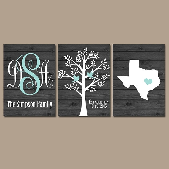 Family Tree Wall Art New Last Name Wall Art – Wall Decoration Ideas Within Family Name Wall Art (View 7 of 20)