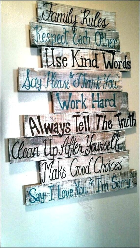 Family Wall Art Family Wall Art Signs Amazing Design Ideas Family Inside Family Rules Wall Art (Image 16 of 20)