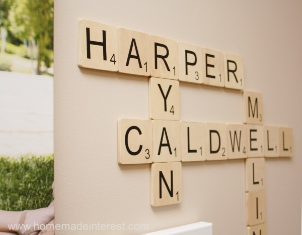 Family Wall Art: Scrabble Edition Pertaining To Scrabble Wall Art (View 16 of 25)