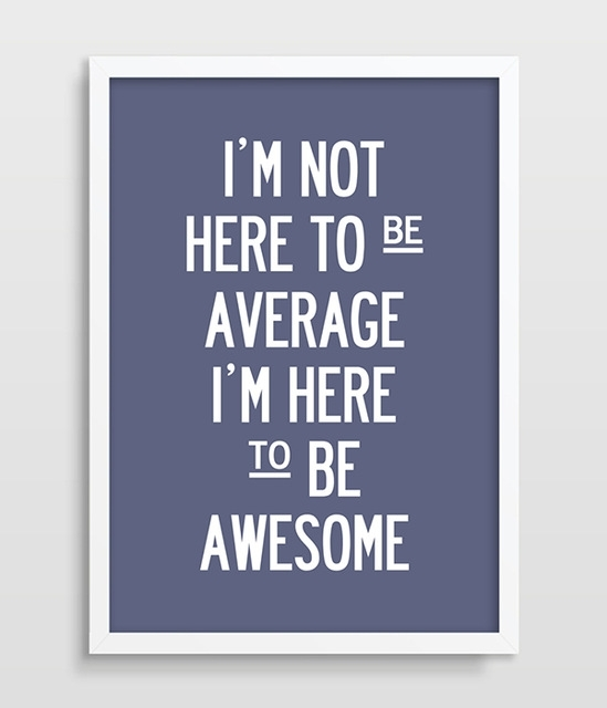 Fitness Typographic Print Inspirational Wall Art Print For Kitchen Throughout Inspirational Wall Art (Image 4 of 10)