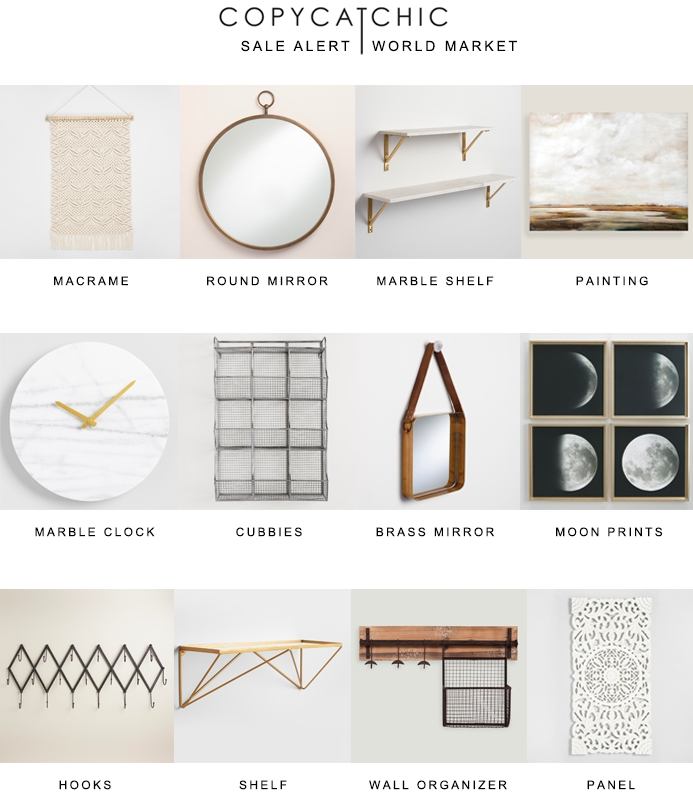 Five For Fifty | Wall Art With World Market – Copycatchic Intended For World Market Wall Art (Image 9 of 25)