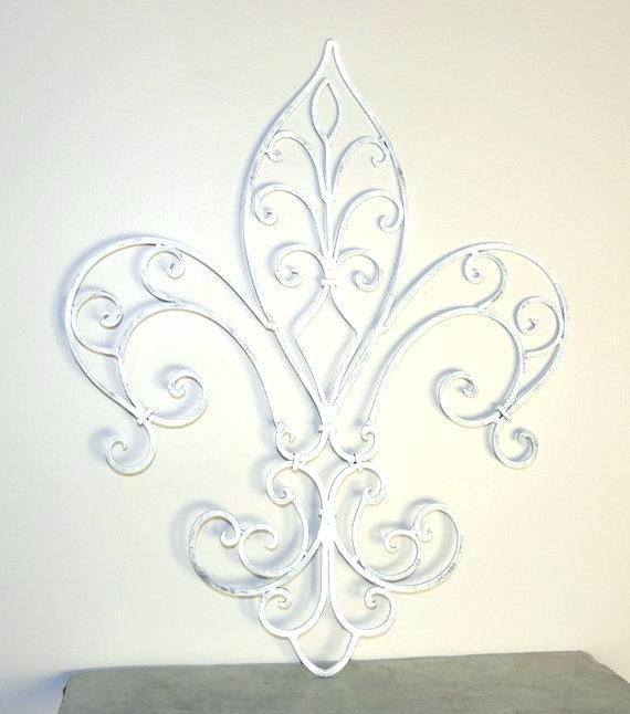 Fleur De Lis Wall Art – Rorydunne (Image 9 of 25)