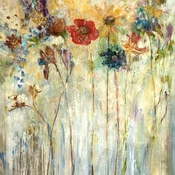 Floral Canvas Wall Art Big Poppy Wall Art Floral Art Canvas Wall Art Throughout Floral Canvas Wall Art (View 7 of 25)