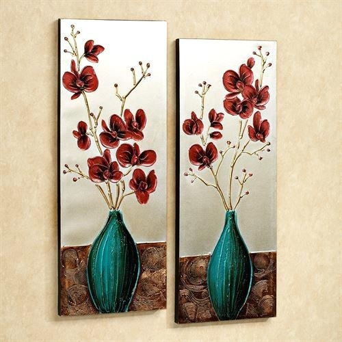 Floral Wall Art Sets Outstanding Wall Art Decor Appealing Cheap Intended For Floral Canvas Wall Art (View 22 of 25)