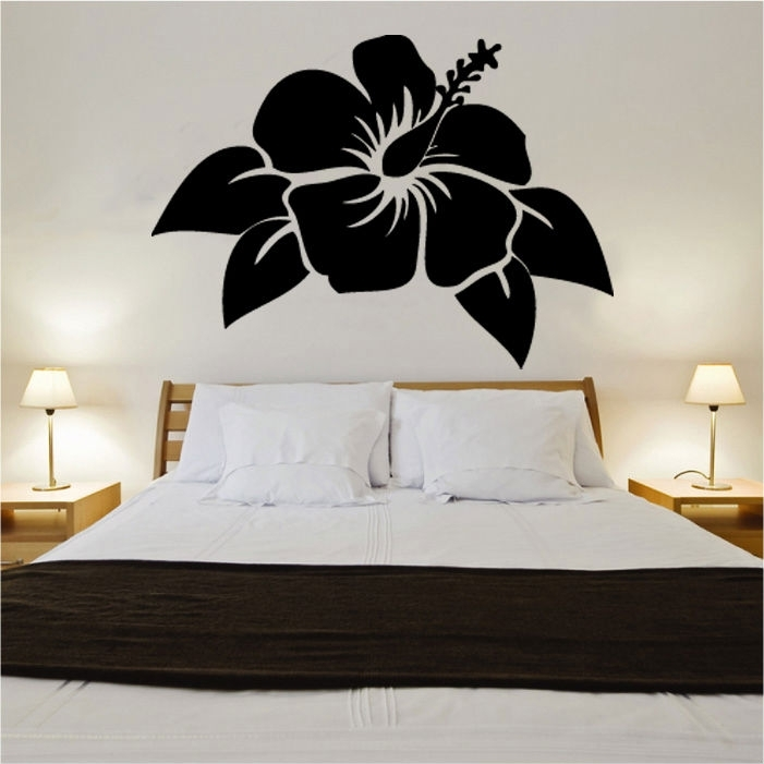 Flower Vinyl Wall Art »  Shop » Home With Flower Wall Art (Image 6 of 20)