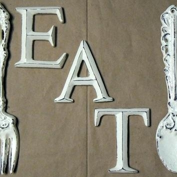 Fork Wall Decor Wood Panel Wall Art Spoon Fork And Knife Informal For Fork And Spoon Wall Art (Image 14 of 25)