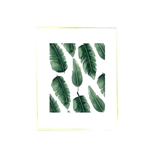 Framed Palm Tree Wall Art Palm Tree Framed Wall Art Tropical Leaves Inside Palm Tree Wall Art (Image 4 of 25)