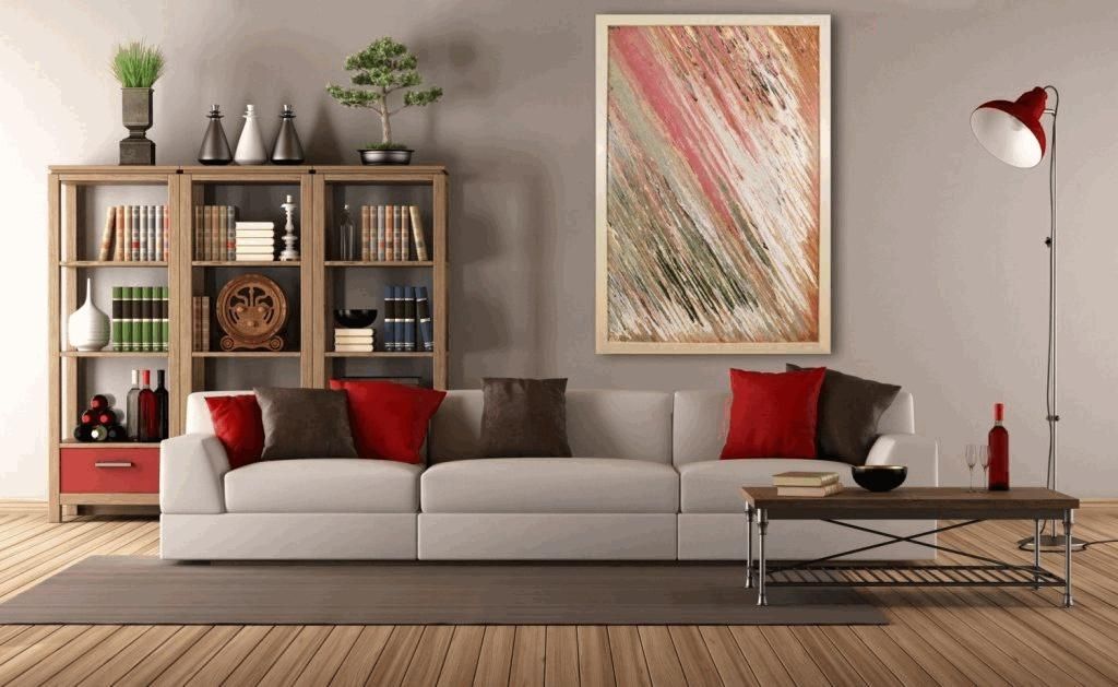 Framed Wall Art For Living Room Triangle Shape Table As Home Decor In Framed Wall Art For Living Room (Image 8 of 25)