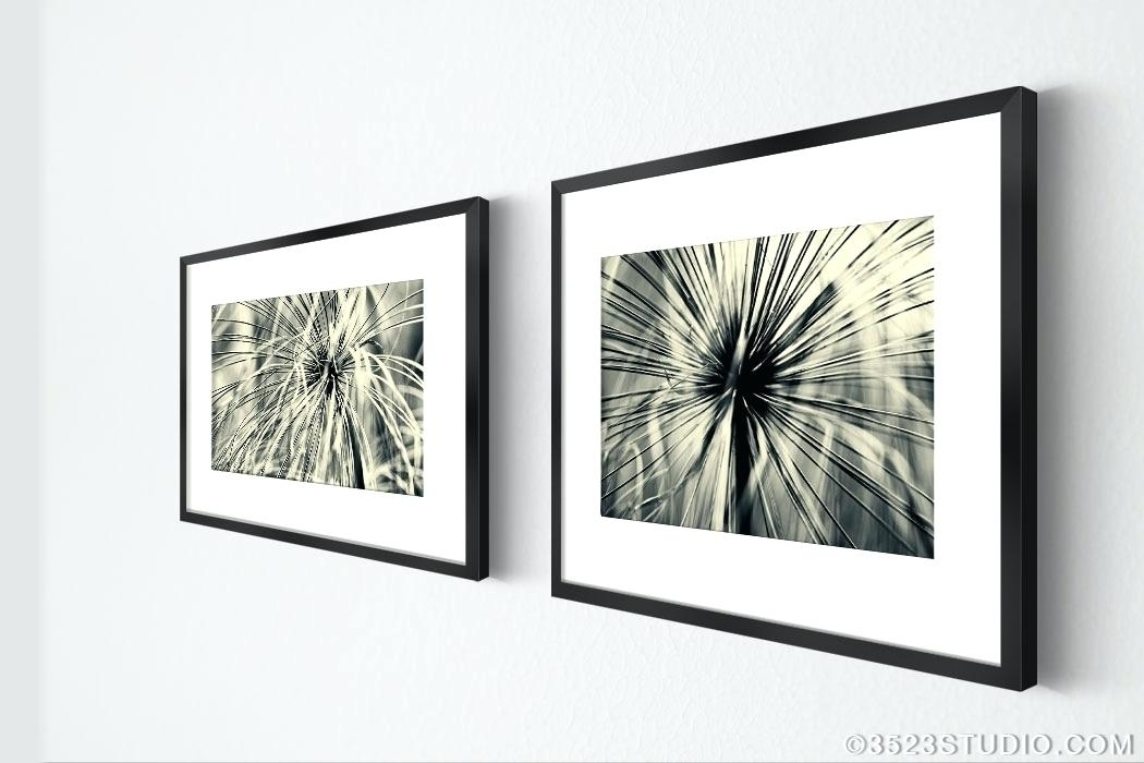 Framed Wall Art Set Of 2 Wall Art Framed Sets Dome Tiles Framed Wall Within Set Of 2 Framed Wall Art (Image 8 of 25)