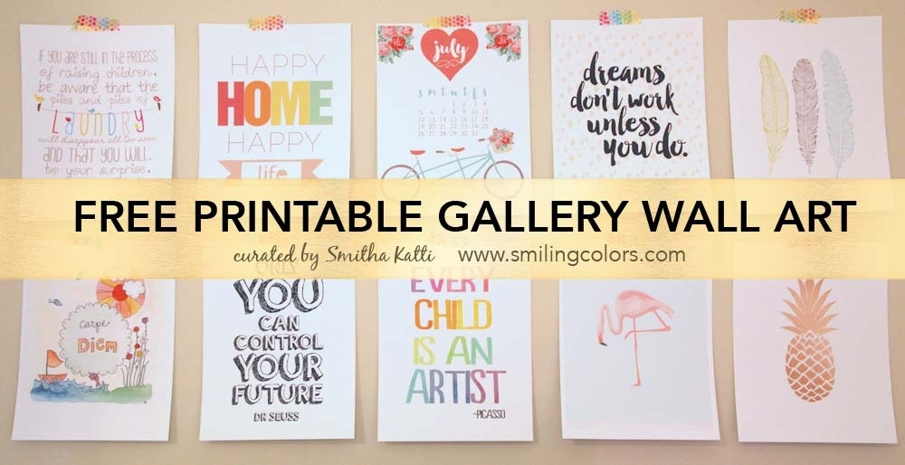 Featured Image of Free Printable Wall Art Decors