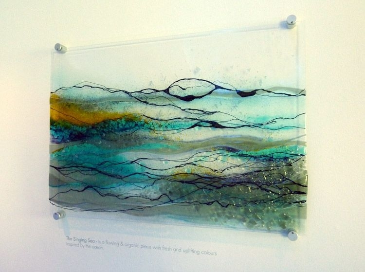 Featured Image of Glass Wall Art